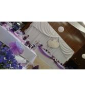 ORCHIDEE VO VODNON KÚPELI S RYBIČKAMI - fialová Cífer