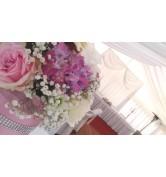 PÚDROVÁ RUŽOVÁ - svadba v stane hotel Galanta